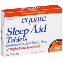 Equate Sleep Aid Tablets
