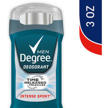 Degree Deodorant Silver Ion Technology Intense Sport Men
