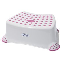 Graco Deluxe Step Stool White/Pink
