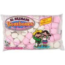 El Mexicano Vanilla-Strawberry Flavored Marshmallows