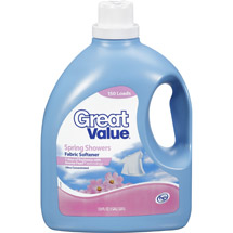 Great Value Spring Showers HE Fabric Softener
