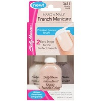 Sally Hansen Hard As Nails French Manicure Set Nearly Nude