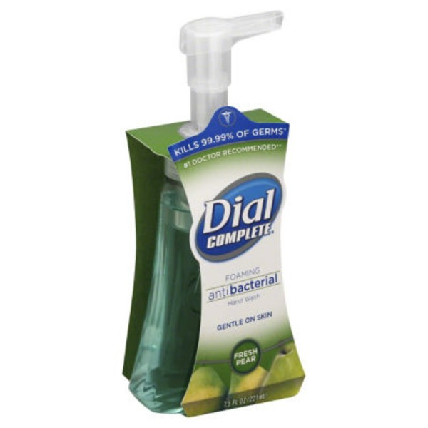 Dial Foaming Hand Wash Antibacterial Fresh Pear Foaming Hand Wash