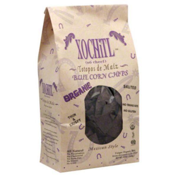 Xochitl Organic Blue Corn Chips Mexican Style