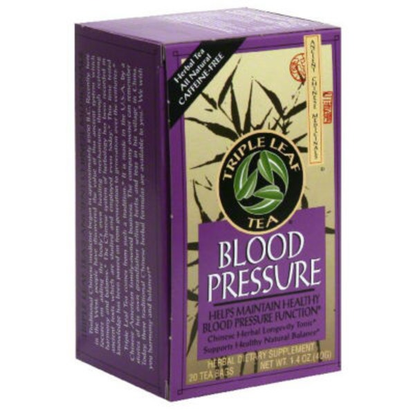 Triple Leaf Tea Blood Pressure Tea - 20 CT