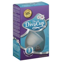 The Diva Cup Menstrual Cup, Model 2