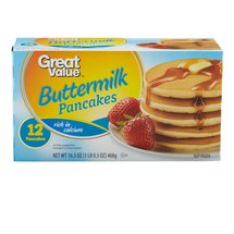 Great Value Buttermilk Pancakes