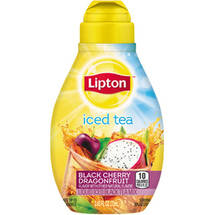 Lipton Tea & Honey Black Cherry Dragonfruit Liquid Ice Tea Mix