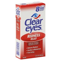Clear Eyes Redness Relief Lubricant/Redness Reliever Eye Drops