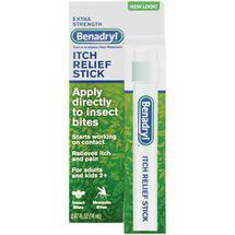 Benadryl Extra Strength Itch Relief Stick .47 fl oz