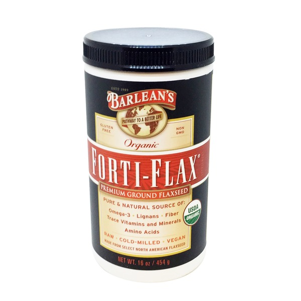 Barlean's Forti Flax Premium Ground Flaxseed