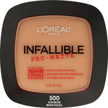 L'Oreal Paris Infallible Pro-Matte Powder 500 Sun Beige