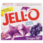 Jell-O Grape Gelatin Dessert