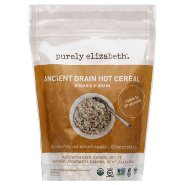 Purely Elizabeth Ancient Grain Hot Cereal 6-Grain