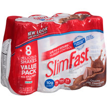 SlimFast Creamy Milk Chocolate Meal Replacement Shakes