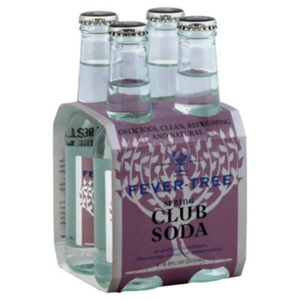 Fever-Tree Premium Natural Mixers Club Soda