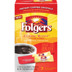 Folgers: Classic Roast .07 Oz Packets Instant Coffee Crystals