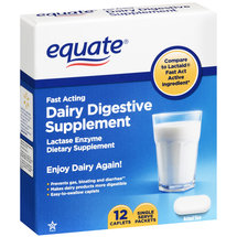 Equate Dairy Digestive Supplement
