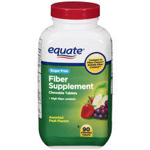 Equate Assorted Fruit Flavors Fiber Supplement
