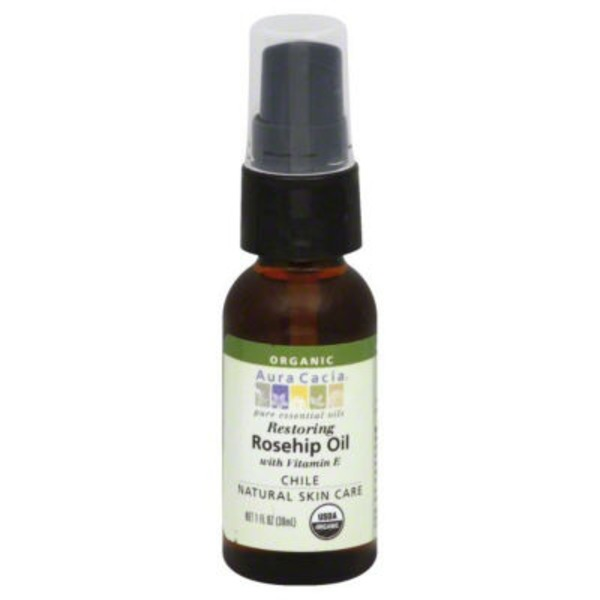 Aura Cacia Restoring Rosehip Oil with Vitamin E