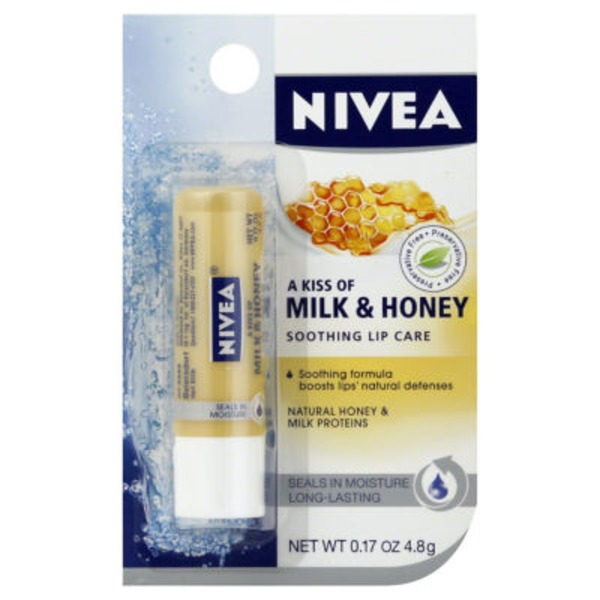 Nivea Milk & Honey Lip Care