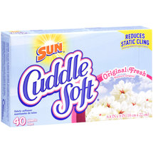 Cuddle Soft Original Fresh Fabric Softener Sheets