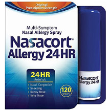Nasacort Allergy 24 Hour Multi-Symptom Nasal Allergy Relief Spray