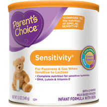 Parent's Choice Sensitivity Powder Infant Formula with Iron