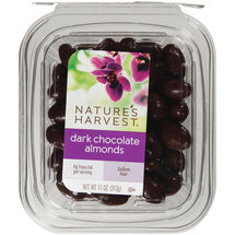Nature's Harvest Dark Chocolate Almonds