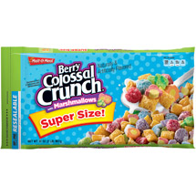 Malt-O-Meal Berry Colossal Crunch with Marshmallows Cereal