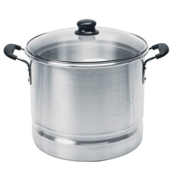 Imusa 32 Quart Steamer With Glass Lid