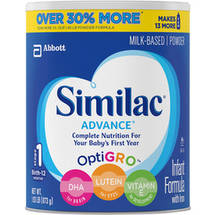 Similac Advance Infant Formula Powder