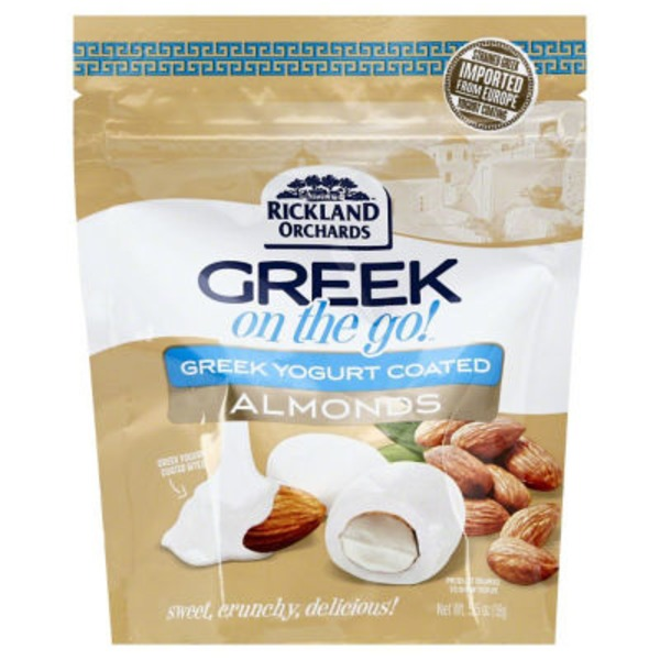 Rickland Orchards Greek On The Go! Greek Yogurt Coated Almonds