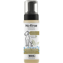 WAHL No-Rinse Waterless Oatmeal Dog Shampoo