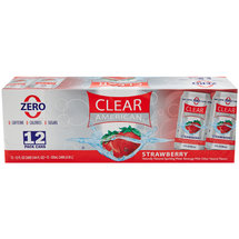 Clear American Strawberry Sparkling Water Beverage