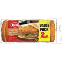 Tyson Spicy Chicken Breast Patties