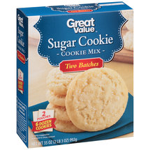 Great Value Sugar Cookie Mix