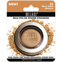 Milani Bella Eyes Gel Powder Eyeshadow 22 Bella Gold Metallic