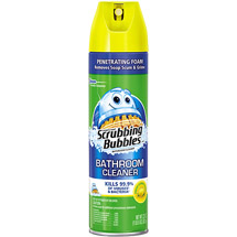 Scrubbing Bubbles Antibacterial Lemon Bathroom Cleaner
