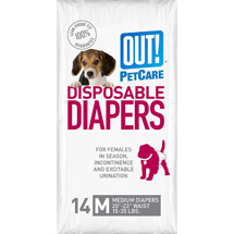OUT! Disposable Diapers Size Medium