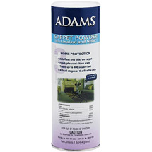 Adams Carpet Powder with Linalool and Nylar