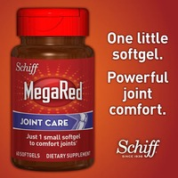 Schiff MegaRed Joint Care Softgels