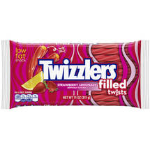 Twizzlers Strawberry Lemonade Flavored Filled Twists