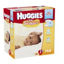 Huggies Little Snugglers Diapers Giant Pack Size 1