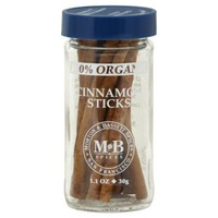 Morton & Bassett Spices Organic Cinnamon Sticks