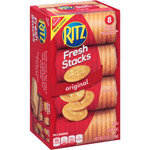Nabisco Ritz Crackers Fresh Stacks