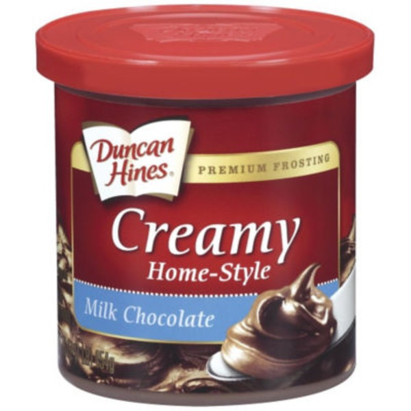 Duncan Hines Milk Chocolate Creamy Home-Style Frosting