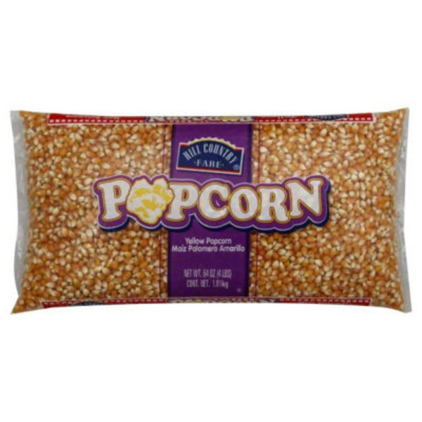 Hill Country Fare Yellow Popcorn