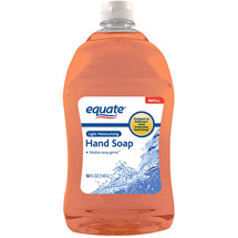 Equate Light Moisturizing Liquid Hand Soap Refill