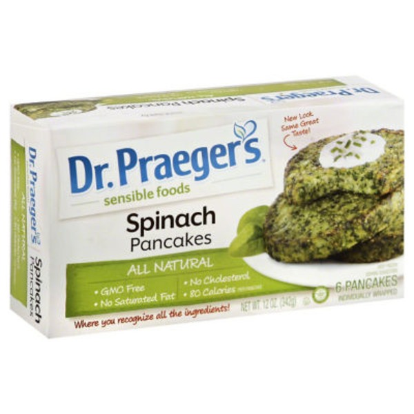 Dr. Praeger's Spinach Cakes - 6 CT